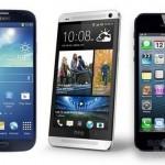 Бой титанов: Galaxy S4, HTC One и iPhone 5