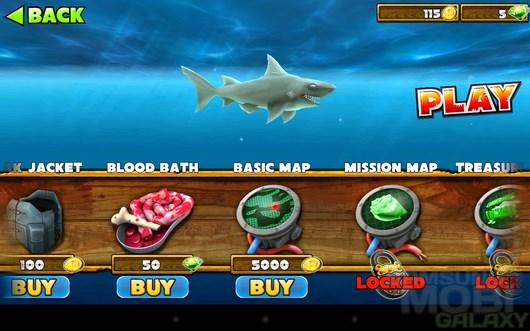 Hungry Shark Evolution – акулья жизнь для Android