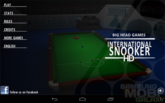 International Snooker HD – реалистичный снукер для Android
