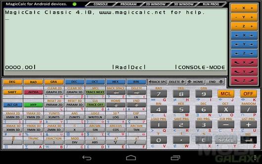 MagicCalc Classic – мощный калькулятор для Android