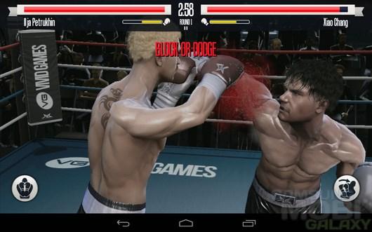 Real Boxing – звездный боксер для Android