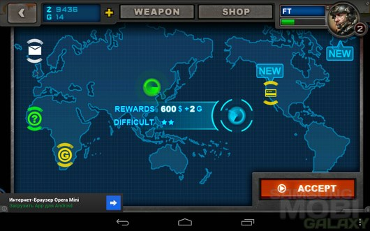 SWAT: End War – контртеррор для Android