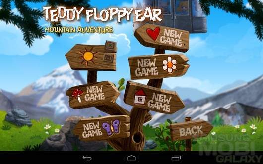 Teddy Floppy Ear: Mt Adventure – путешествия мишки для Samsung Galaxy