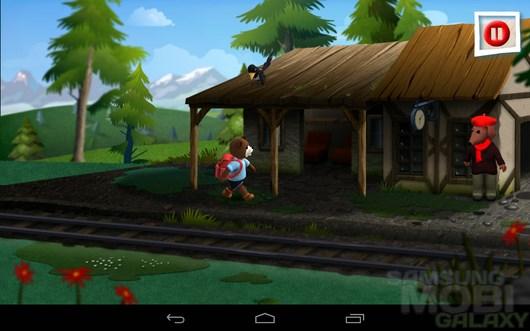 Teddy Floppy Ear: Mt Adventure – путешествия мишки для Samsung Galaxy