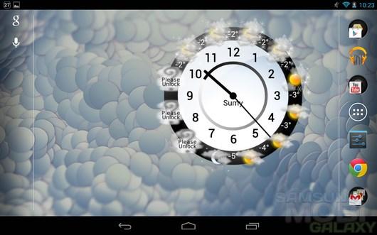 Weather Clock – почасовая погода для Android