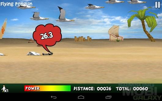 Yetisports 4 – возвращение ети и пингвина для Android