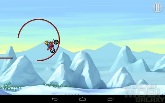 Bike Race Free – экстремальный кросс для Android