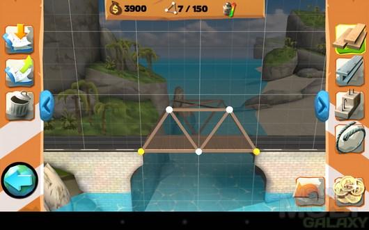 Bridge Constructor Playground – стройка мостов для Android