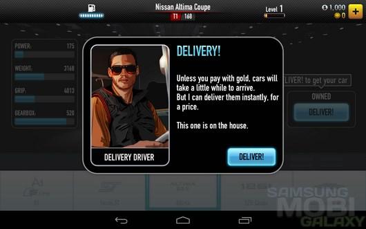CSR Racing – ночные рыцари дорог для Android