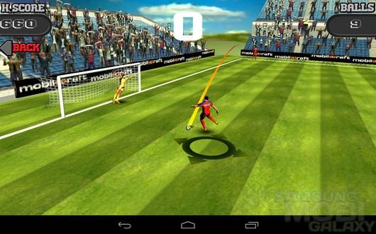 Flick Shoot – поражение ворот для Android