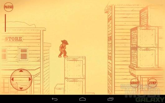 Gunman Clive – рисованный вестерн  для Android