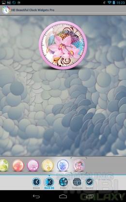 HD Beautiful Clock Widgets Pro – отличные виджеты часиков для Android
