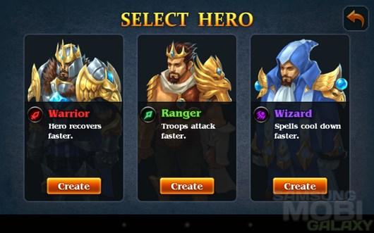 Hero Defense – нежить наступает для Android