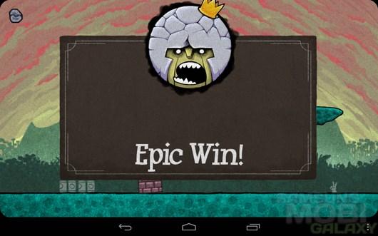 King oddball – каменная голова  для Android