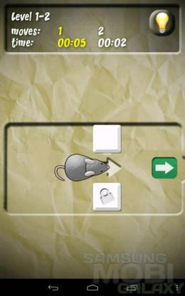 Mouse Trap – помощь мышонку для Android