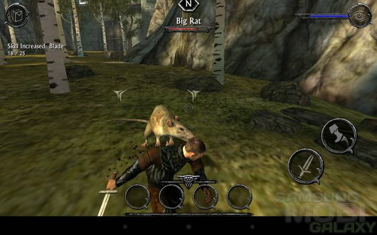 Ravensword: Shadowlands – фантастический мир для Android