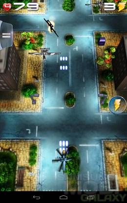 Shoot'n'Scroll 3D – воздушные баталии для Android
