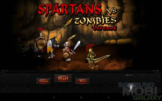 Spartans vs Zombies Defense – спартанцы сокрушают зомби для Android