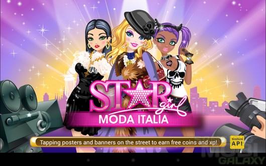 Star Girl: Moda Italia – ах, Милан! для Android
