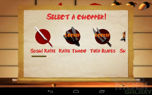 SushiChop – сушимастер для Android