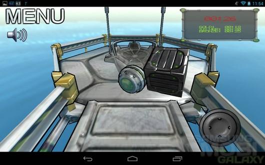 Swerve – управление шаром для Android