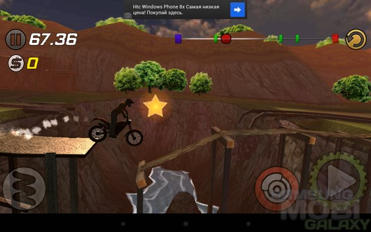 Trial Xtreme 3 – опасные ралли для Android