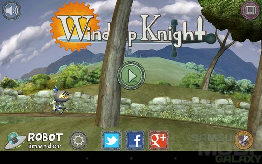 Wind-up Knight – заводной рыцарь для Android