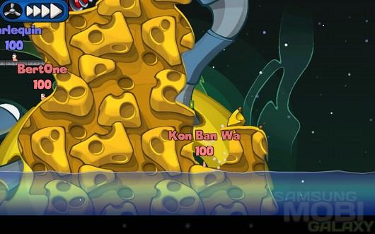 Worms 2: Armageddon – война червячков для Android