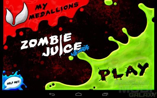 Zombie Juice – давим зомби для Android