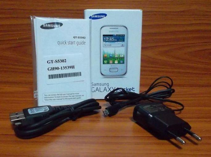 Комплектация смартфона Samsung GALAXY Pocket DUOS GT-S5302. Обзор, фото, видео, технические характеристики