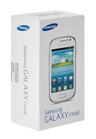 Коробка с Samsung GALAXY Fame GT