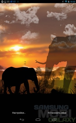 African Scene – африканская саванна для Android