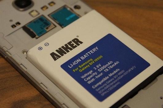 Galaxy S4 Аккумулятор Anker на 5200 мАч для Galaxy S4