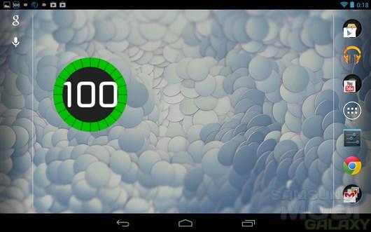 Battery Solo Widget – виджет для аккумулятора для Android