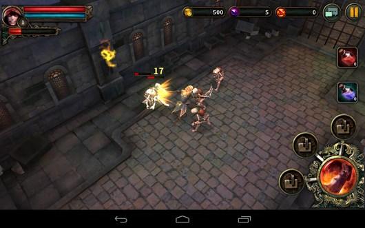 Dark Avenger – герой подземелья для Android