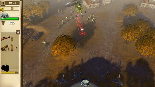 Hills of Glory 3D – защита базы для Android