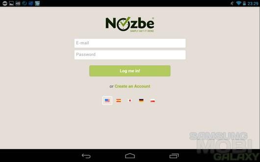 Nozbe – удобные напоминания для Android