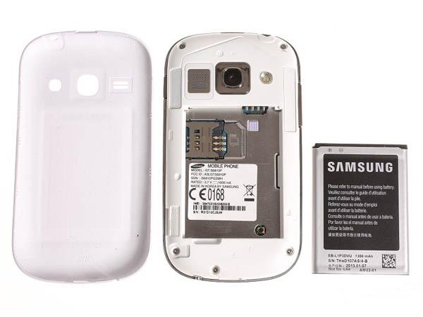 Раскрытый корпус Samsung GALAXY Fame GT