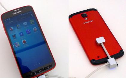 Первое фото и видео с Samsung Galaxy S4 Active