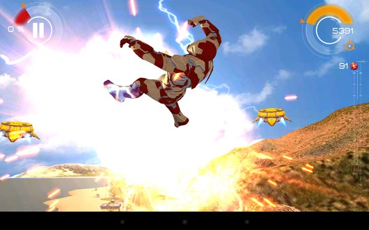 Железный Человек 3 – приключение супергероя для Android