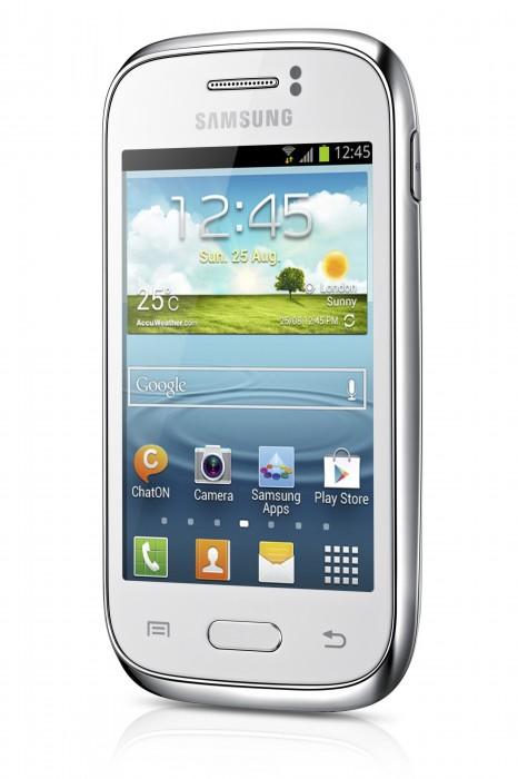 Samsung GALAXY Fame GT-S6810. Белый цвет корпуса