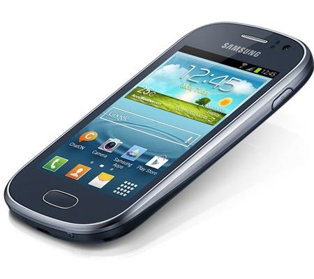Samsung GALAXY Fame GT. Синий цвет корпуса