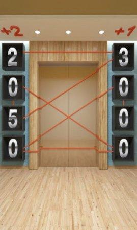 Процесс игры 100 Дверей: ПОБЕГ! на Android
