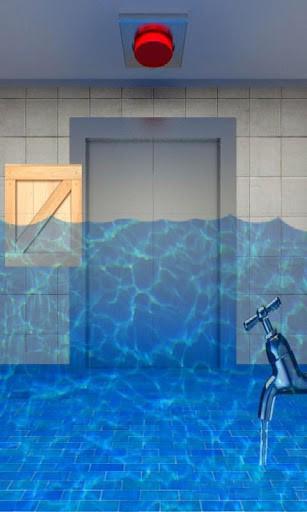 Уровень с водой 100 Дверей: ПОБЕГ! на Android