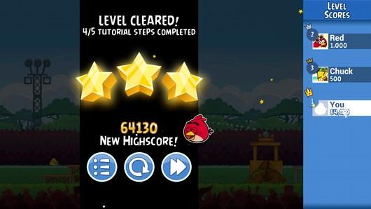 Angry Birds Friends – дружеское состязание для Android