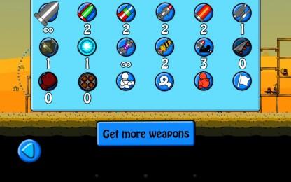 BOOMBA! - набор доступного оружия