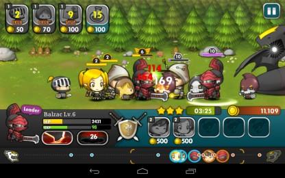 Brave Heroes - эпичные сражения замок-на-замок