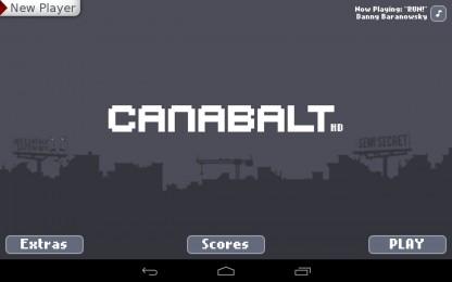Canabalt - забег по рушащемуся городу