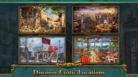 Екзотические локации в Hidden Object Mystery Estate на Samsung Galaxy