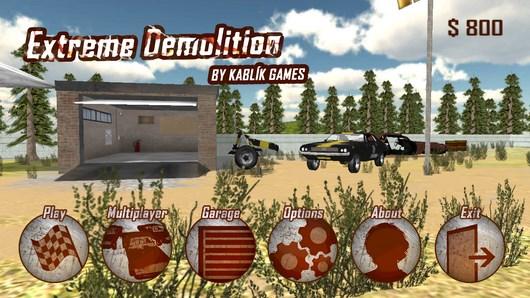 Extreme Demolition – разрушительное дерби для Android